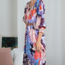 Load image into Gallery viewer, Seventies Mauve Maxi