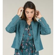 Duck Blue Soft Touch Jacket