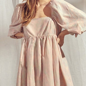 Cotton Candy Babydoll Dress