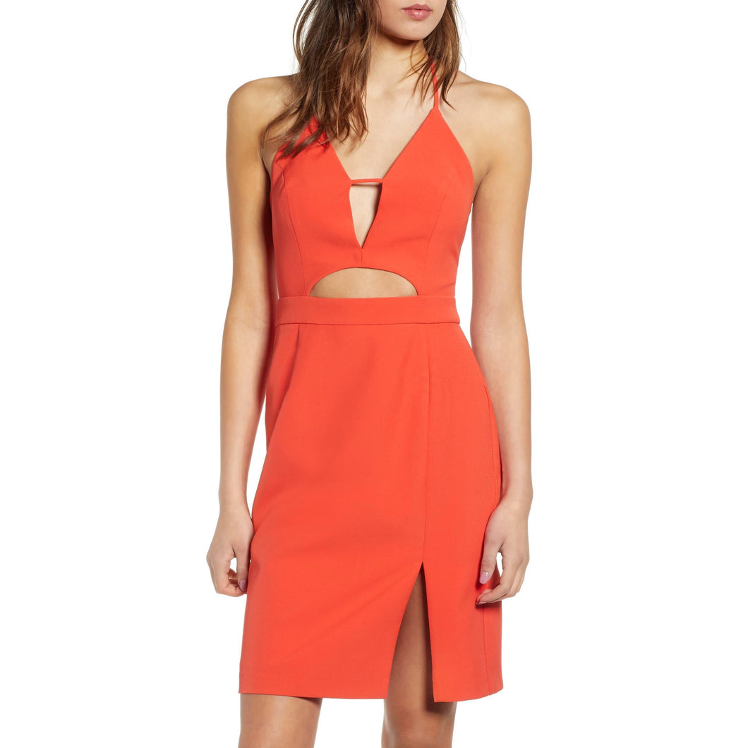 Cut Out Halter Mini