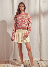 Load image into Gallery viewer, Shaggy Rose Sweater