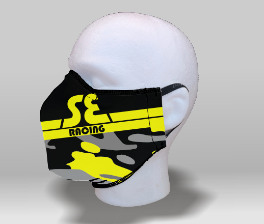 SE CAMO YELLOW Face Mask