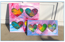 Load image into Gallery viewer, jim dine inspired hearts!