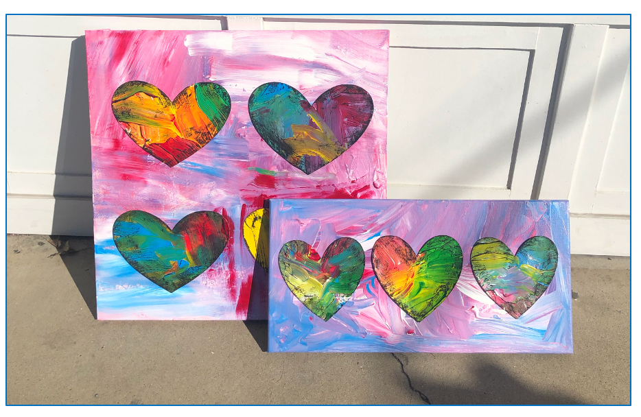 jim dine inspired hearts!