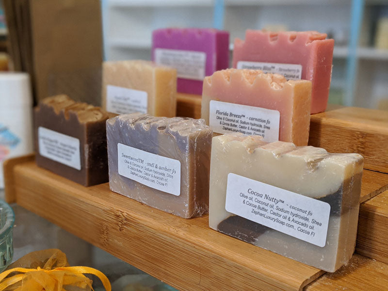 Why Zephan Luxury Soap?