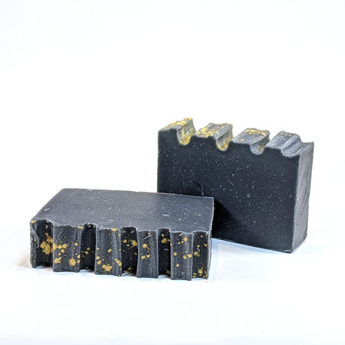 Scent-free handmade natural charcoal soap