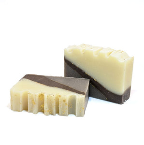 coconut fragranced handmade natural soap