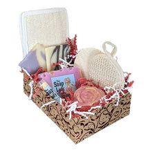 Load image into Gallery viewer, Large Gift Box of Soap and Bath Products - Shipping INCLUDED