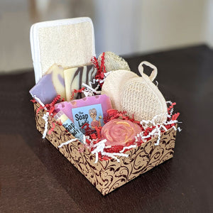 Large Gift Box of Soap and Bath Products - Shipping INCLUDED