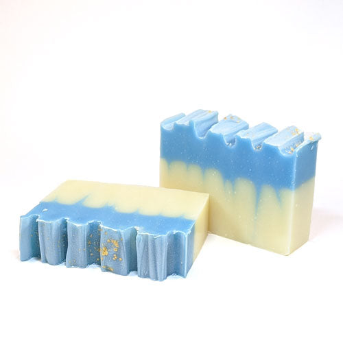 peppermint scented organic handmade soap