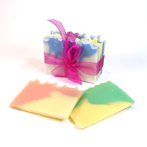 sample pack of handmade all-natural soap