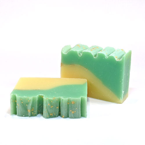 lemongrass scented all natural handmade soap