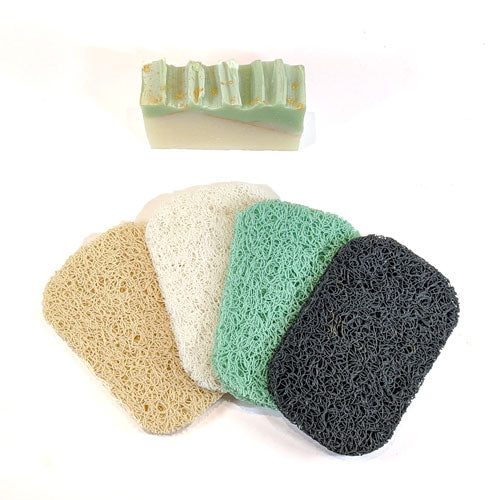 colored soap pads