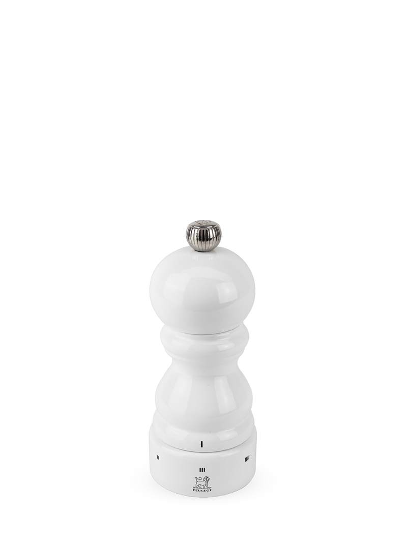 "Paris Pepper & Salt Mill White Lacquer 5"" to 16"""