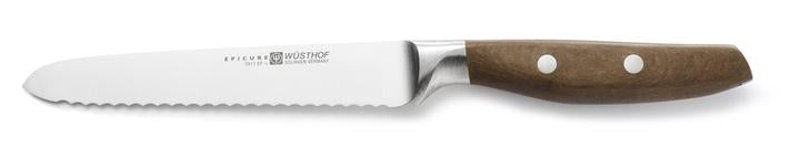"Wüsthof Epicure 5"" Serrated Utility Knife - 3911-7"