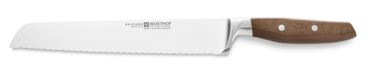 "Wüsthof Epicure 9"" Double Serrated Bread Knife - 3950-7/23"
