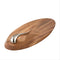 Nambé Swoop Cheese Board w/ Knife 21""