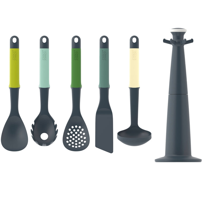 JJ Elevate™ OPAL Carousel Kitchen Tool Set