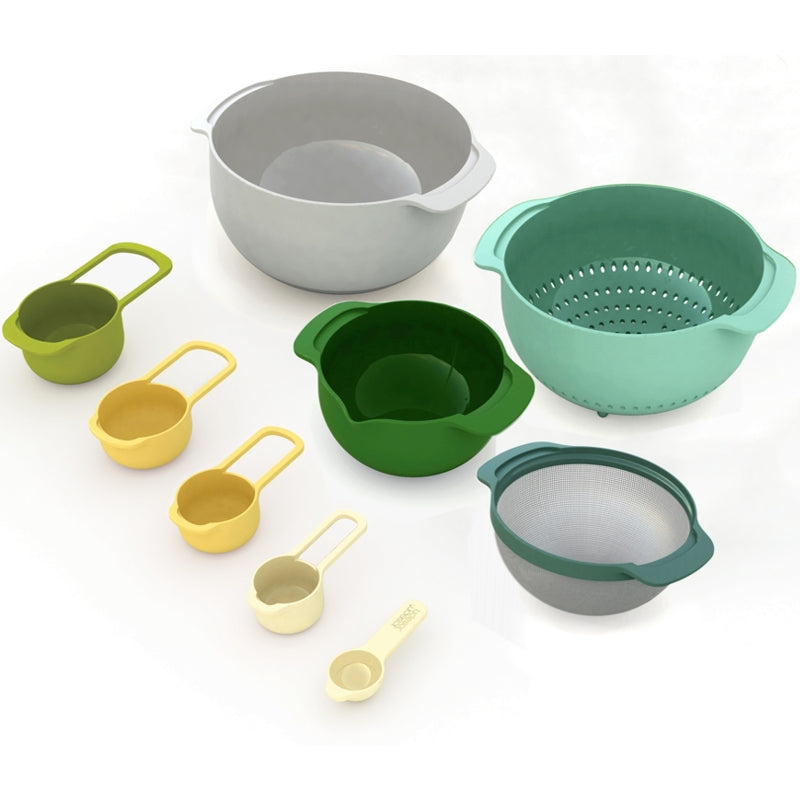 JJ Nest™ OPAL 9pc Food Preparation Set