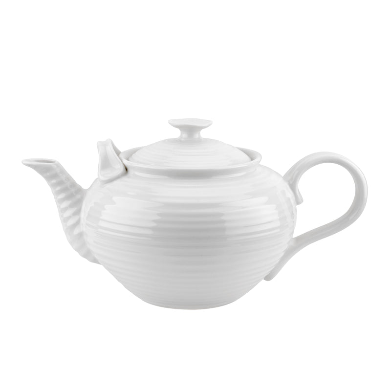 Sophie Conran White Party 4 Pint Teapot