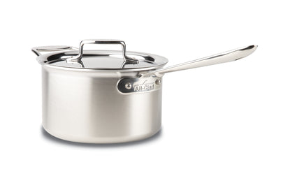 ALL-CLAD d5® STAINLESS Polished 4-Qt Sauce Pan w/Lid