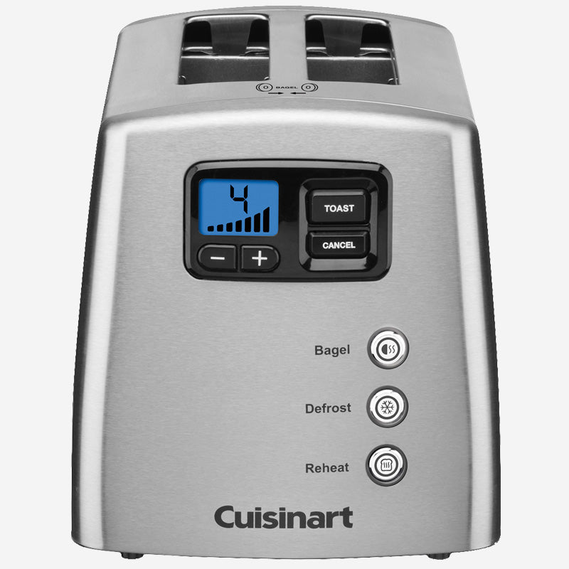 CU Countdown Lever-less 2-Slice Toaster