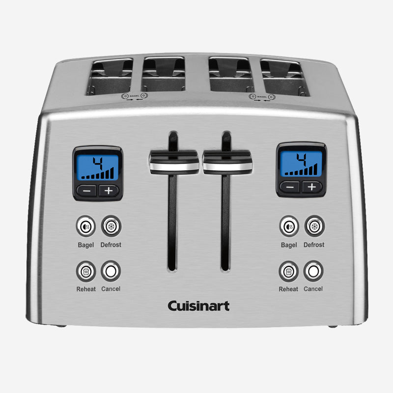 CU 4-Slice Countdown Metal Toaster