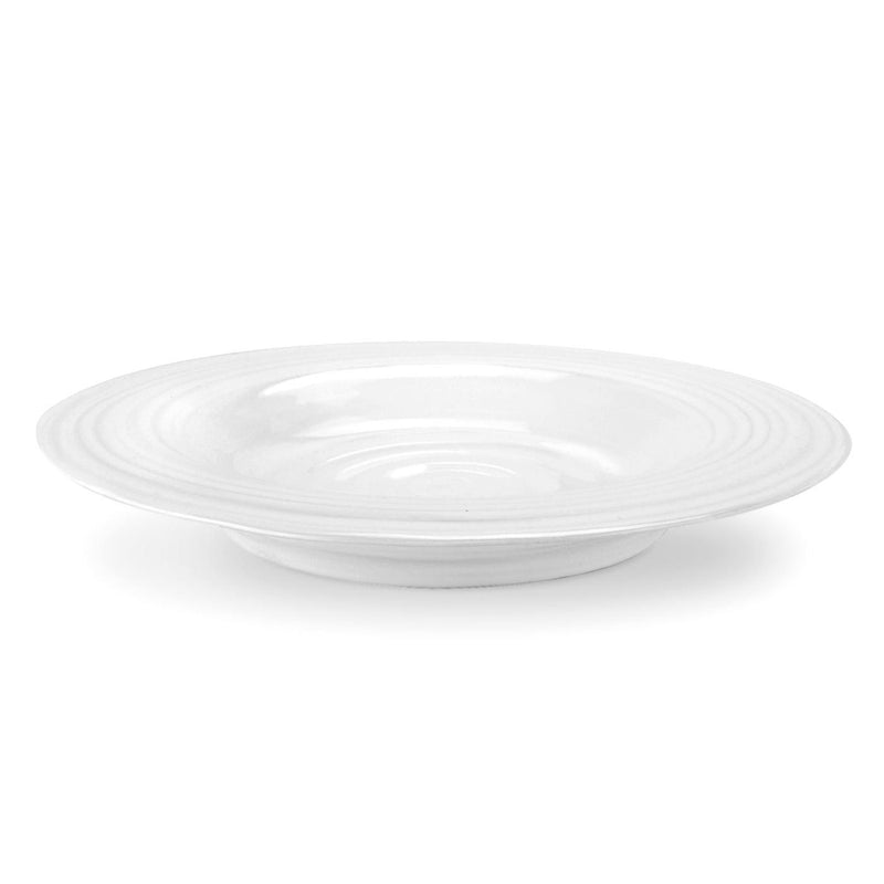 Sophie Conran  White Rimmed Soup Plate Set of 4