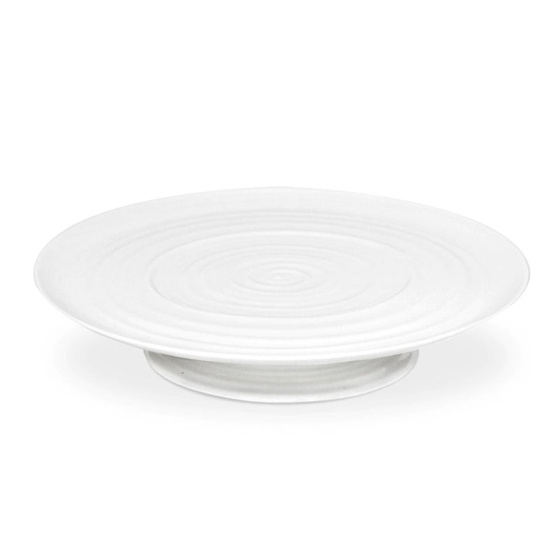 Sophie Conran White Footed Cake Plate 12¾""