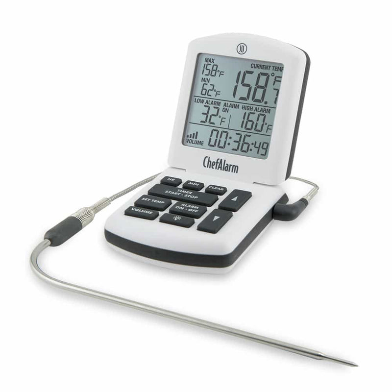ChefAlarm® Cooking Alarm Thermometer and Timer