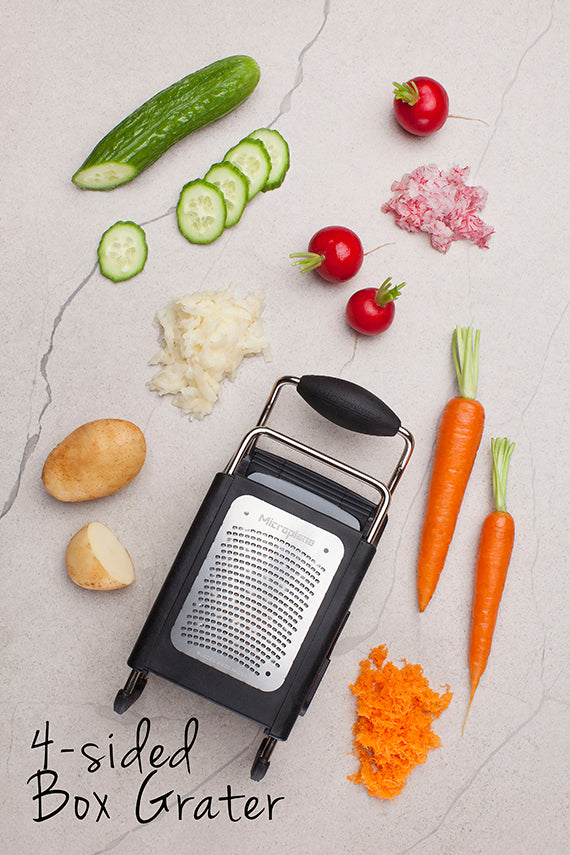 Microplane 4-Sided Stainless-Steel Professional Box Grater