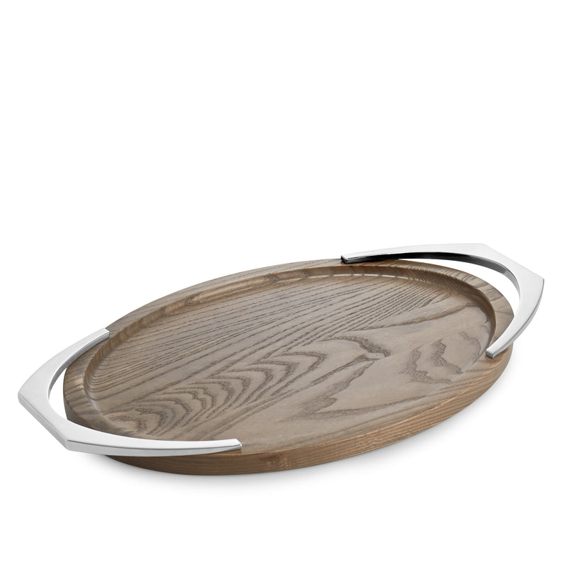 Nambé Cabo Oval Serving Tray 20""