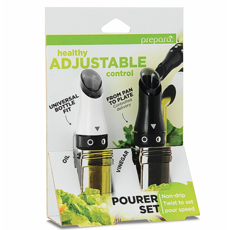 Prepara Adjustable Oil & Vinegar Pourers