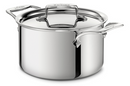 ALL-CLAD d5® STAINLESS Polished 4-Qt Soup Pot w/Lid