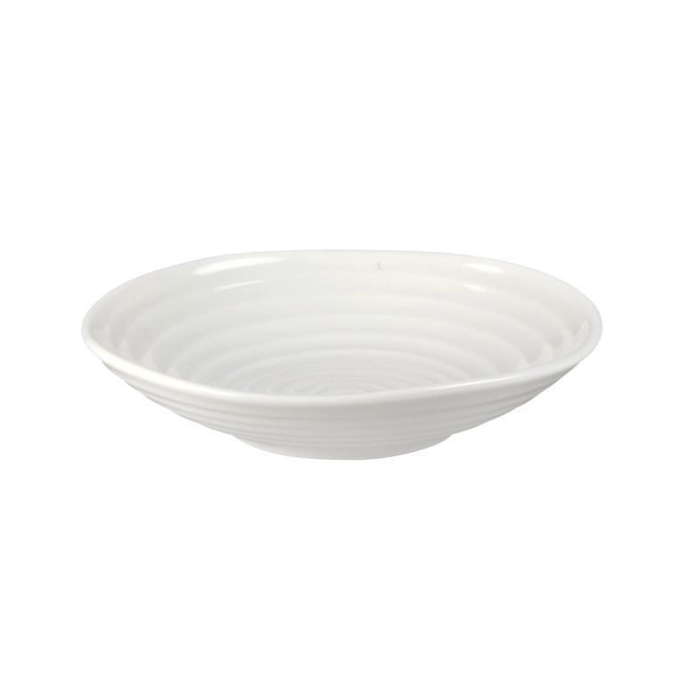 "Sophie Conran White 4.5"" Low Bowl Set of 4"