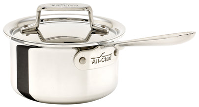 ALL-CLAD d5® STAINLESS 1.5-Qt Sauce Pan w/Lid