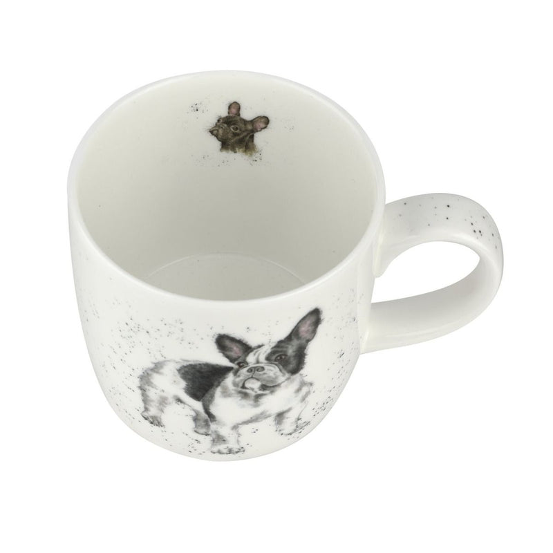 Wrendale  Frenchie 11oz  Mug