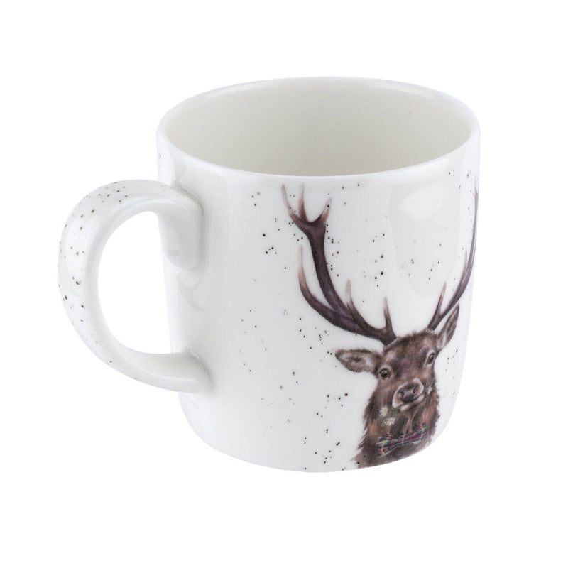 Wrendale  Stag  Large 14oz Mug