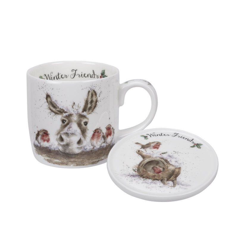Wrendale Winter Mice 11oz Mug (Christmas)