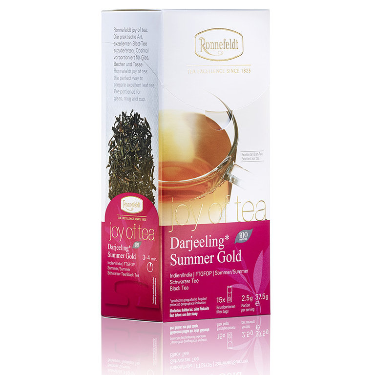 "Joy of Tea ""Darjeeling"" Summer Gold - Teehaus Martin"