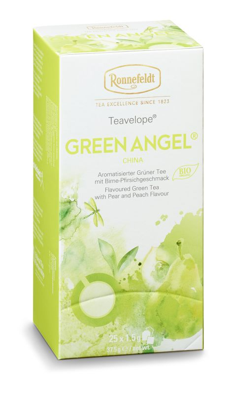 "Teavelope "" Green Angel"" - Teehaus Martin"