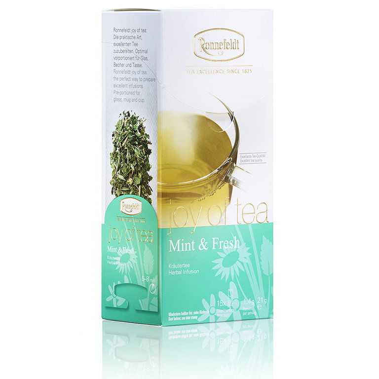 "Joy of Tea ""Mint & Fresh"" - Teehaus Martin"