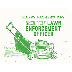 Top Lawn Father's Day Card