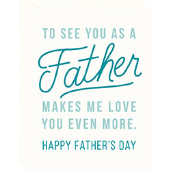 To See You Father's Day Card