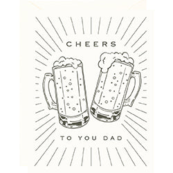 Cheers to You Father's Day Card