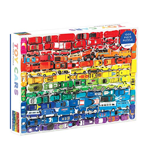 Rainbow Toy Cars 1000 PC Puzzle