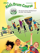 Alfred's Kid's Drum Course, Bk 1: The Easiest Drum Method Ever!, Book & Online Audio