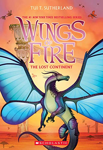 Lost Continent (Wings of Fire, Book 11), Volume 11