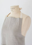 Heirloomed Linen Full Apron with Pocket