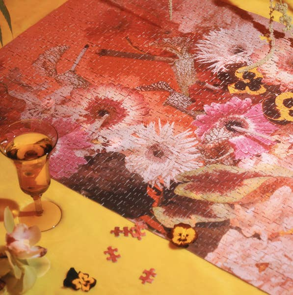 Smoke and Petals 1000 Piece Puzzle